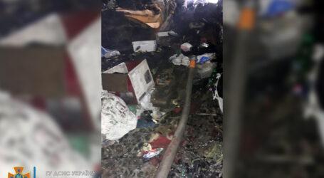 У Кам'янському на пожежі постраждав хлопчик