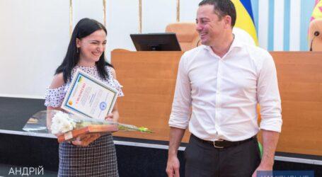 Міський голова Кам'янського вручив стипендії талановитій молоді