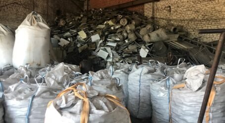 На Дніпропетровщини викрили підпільний цех з переробки металобрухту, який забруднював навколишнє середовище