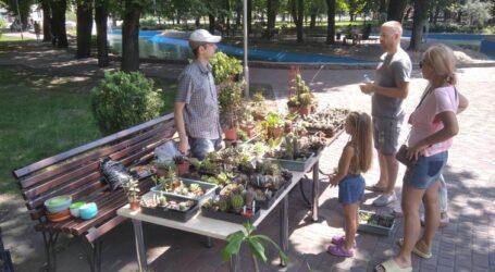 Рослини майбутнього демонструються в центральному парку Кам'янського