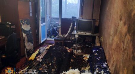 У Кам'янському на пожежі постраждав чоловік