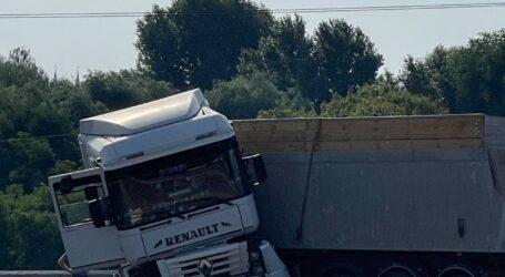 У Кам'янському п'яний водій спричинив ДТП на мосту