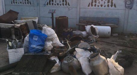На Дніпропетровщині чоловік на власному подвір'ї влаштував пункт прийому металобрухту