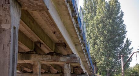 В Каменском перекрыто движение через мост по улице Ивана Франка