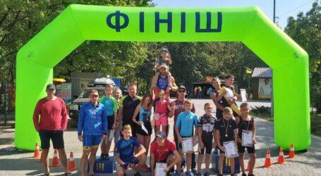 У Кам'янському пройшли змагання з крос-триатлону