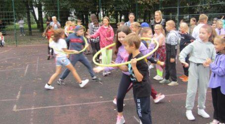 День здоров'я для школярів в парку Кам'янського