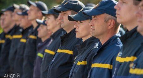 В День рождения города спасателей Каменского поздравляли с профессиональным праздником