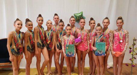 Каменские гимнастки завоевали 9 призовых мест на соревнованиях в Виннице