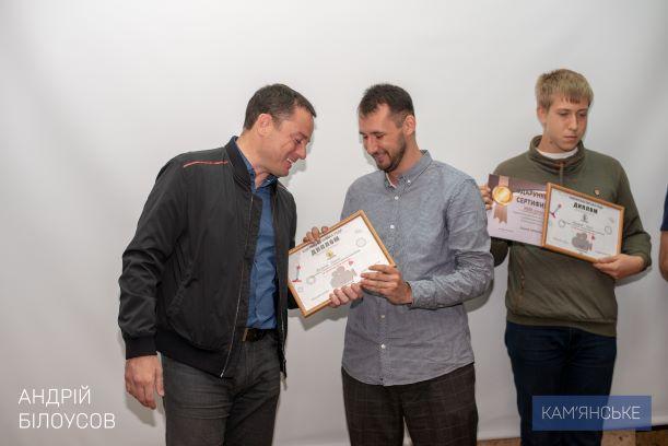 Мэр вручил награды победителям конкурса «В объективе Каменское» - ФОТО
