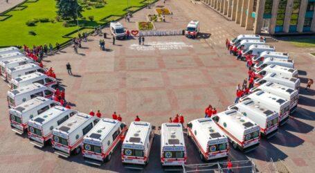 Каменская станция экстренной медпомощи получила 26 новых «скорых»
