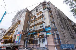 В Каменском продолжаются работы по строительству и реконструкции инфраструктурных объектов