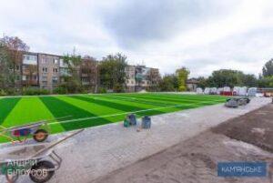 В Каменском продолжаются работы по строительству и реконструкции инфраструктурных объектов - ФОТО