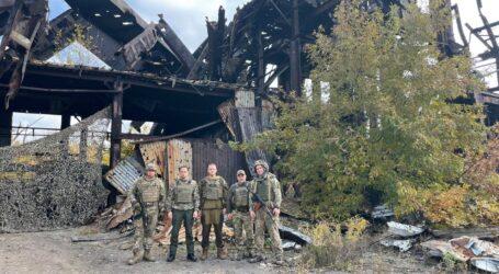 Міський голова Кам'янського передав допомогу у зону ООС